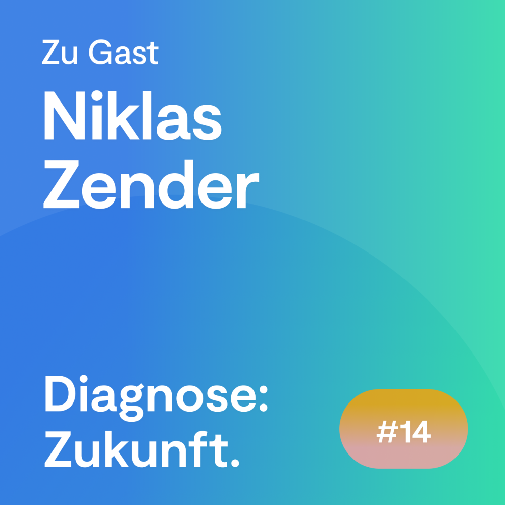 #14 Folge – Niklas Zender: Wie eine dezentrale Plattform die medizinische Zusammenarbeit verbessert